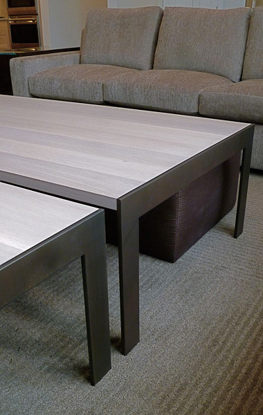 Oak + Steel Coffee Tables